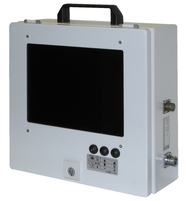 Geo Laser MF-03 Monitor with Flat Screen Pilot Pipe Jacking, Shaft Alignment, Tunnel, Boring