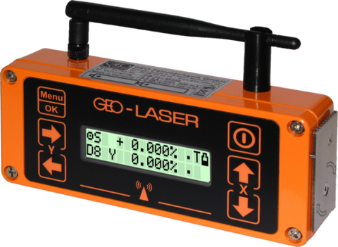 Geo Laser NL-8 Fully Automatic Steep Dual Grade Laser, Rotating Laser, Inclination Laser, Slope, Waterproof