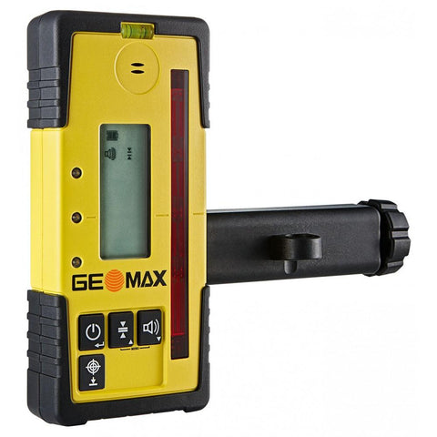 GeoMax Zone20 H Rotating Laser Level with ZRD105 Digital Receiver Alkaline Battery Door