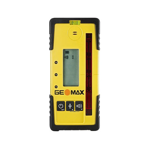GeoMax Zone60 DG Rotating Laser Level with ZRD105 Digital Laser Receiver Dual Grade Laser