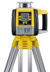 GeoMax Zone60 DG Rotating Laser Level with ZRP105 Pro Laser Receiver, Dual Grade Laser