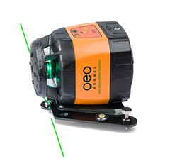 Geo Fennel FLG 245HV GREEN TRACKING Rotating Laser Level with FR77mm Laser Receiver