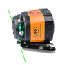 Image of Geo Fennel FLG 245HV GREEN TRACKING Rotating Laser Level with FR 77mm Laser Receiver, Rotary Laser Level