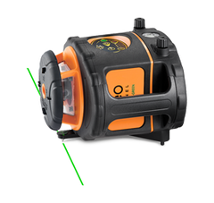 Geo Fennel FLG 265HV GREEN Rotating Laser Level with FR 77-MM Laser Receiver, Rotary Laser Tools
