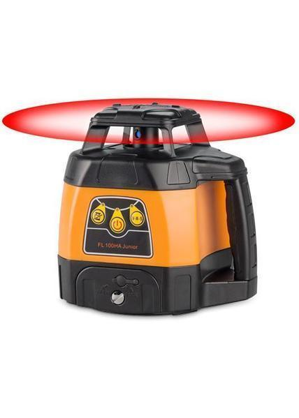 Geo Fennel FL 100HA Junior (LC 2) Rotating Laser Level with FR 45 Laser Receiver, Rotary Laser Level