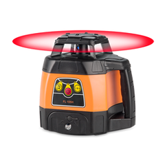Geo Fennel FL 105H Horizontal Rotating Laser Level with FR 45 Receiver, Rotary Laser Level