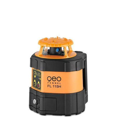 Geo Fennel FL 115H Horizontal Rotating Laser Level with FR 45 Laser Receiver, Rotary Laser Level