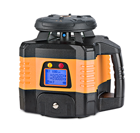 Geo Fennel FL 150H-G (LC 3R) Dual Grade Rotating Laser Level with FR-Dist 30 Laser Receiver, Rotary Laser Level