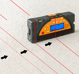 Geo Fennel FL 275HV TRACKING Rotating Laser Level with FR 77 MM Laser Receiver, Rotary Laser Level