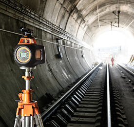Geo Fennel FL 500HV-G (LC 3R) Dual Grade Rotating Laser Level with FR 45 Laser Detector, Rotary Laser Level