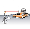 Image of Geo Fennel FL 500HV-G (LC 3R) Dual Grade Rotating Laser Level with FR 45 Laser Detector, Rotary Laser Level
