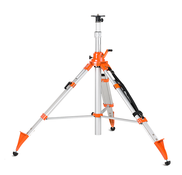 Geo Fennel FS 50-M Elevating Tripod, Elevator Tripod for Laser Levels, Line Lasers, Laser Tools, Cross Lasers