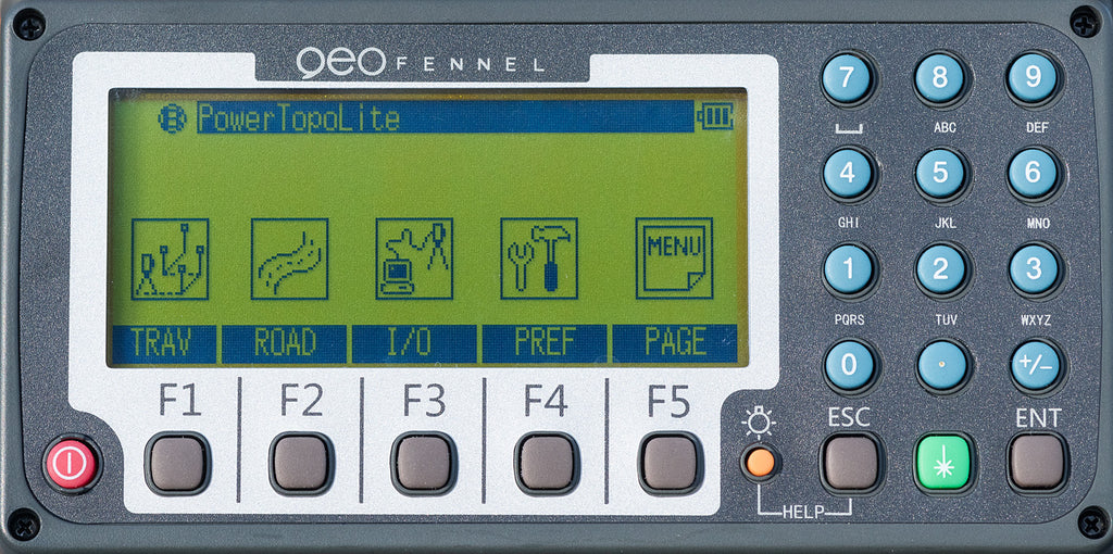 Geo Fennel FTS 202 Total Station Reflectorless, Laser Measuring, Surveying & Construction