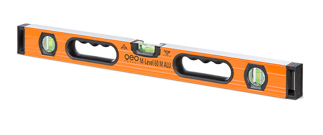 Geo Fennel M-Level 60 M ALU 60 cm Aluminium Spirit Level Professionals, Extremely Robust