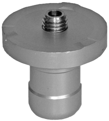"Geo Laser Plug-in Spigot Adapter d = 34, D =   65 mm, 5/8"" Thread"