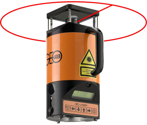 Geo Laser RL-78L Fully Automatic Rotating Laser, Horizontal, Vertical, Direction