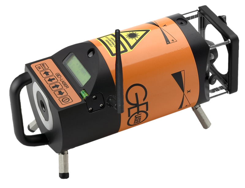Geo Laser UL-89L Fully Automatic Universal Laser, Horizontal, Vertical, Direction Plumb Beam, Inclination, Prepared for Radio Remote Control