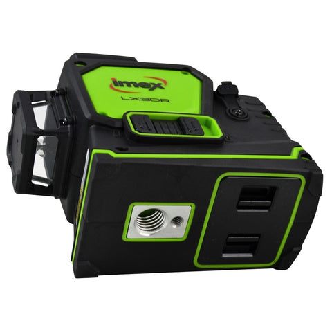Imex 3 Liner LX3D multi-line Green Beam 3 x 360° Lines Plus Laser Detector, Laser Level