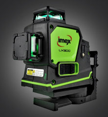 Imex LX3DG Multi-line laser Green Beam 3 x 360° Lines Laser Level, Multi Beam Laser