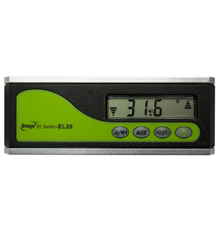 Imex EL series 160mm Pro Digital Level - Magnetic Base, Angel Finder, Slope, Gradient