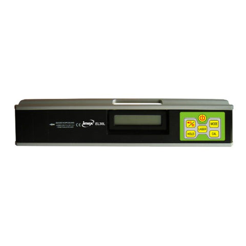 Imex EL series 300mm Digital Level with Laser Pointer, Angel Finder, Slope, Gradient