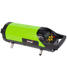 Imex IPL300 Red Beam Pipe Laser Level, Drainage Laser, Plumbers Laser Level