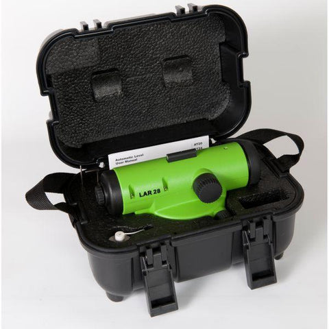 Imex LAR 28x Magnification Auto Level with Tripod & 5 Meter Staff, Dumpy Level, Automatic Level