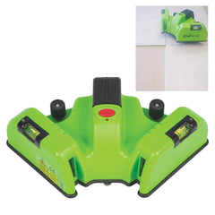 Imex LX11GP Premium Laser Square, Green Beam Laser Level, 90 Degree Right Angle Laser