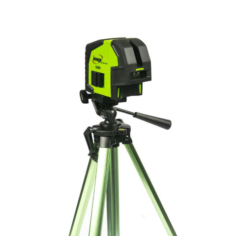Imex LX22S Crossline Laser Plumb with Elevator Tripod 1.5m Meter, Laser Level, Cross Laser
