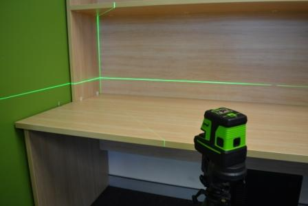 Imex  LX25GP Crossline + 5 Dot Laser Green Beam Laser Level, Cross Laser, Multi Line Laser