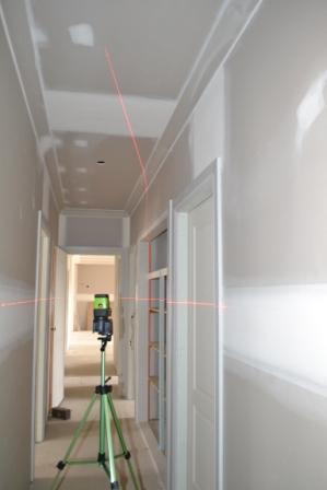 Imex LX25PD Crossline + 5 Dot Plus Laser Detector, Point Laser Level, Plumb Laser