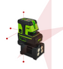 Image of Imex LX25PD Crossline + 5 Dot Plus Laser Detector, Point Laser Level, Plumb Laser