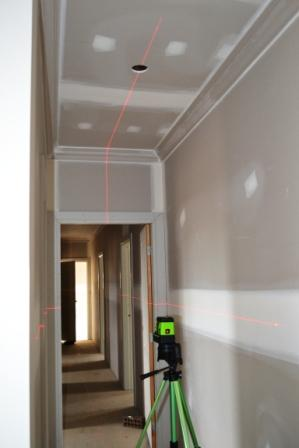 Imex LX25P Crossline + 5 Dot Set Out Laser Level, Plumb Laser, Point Laser Level