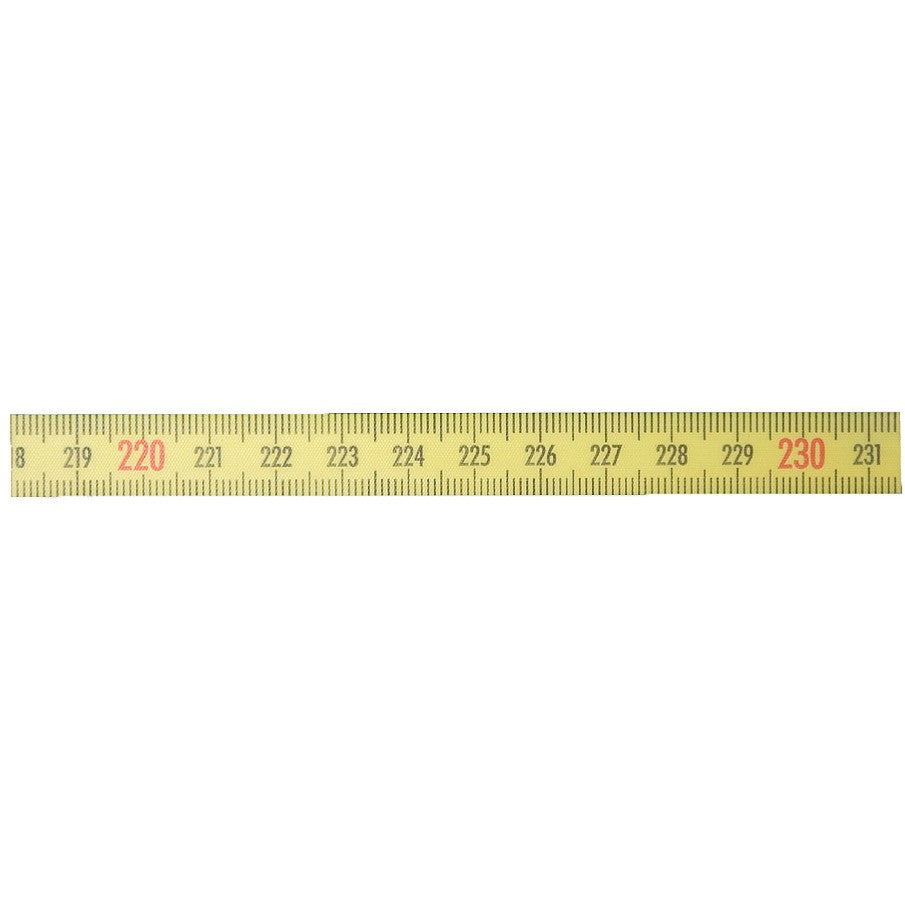 Imex R to L 13mm Bench Tape 3 meter, Measuring Tape