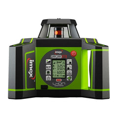 Imex i99R Dual Grade Rotating Laser Level with LRX10 Laser Receiver and Tripod & 5m Staff