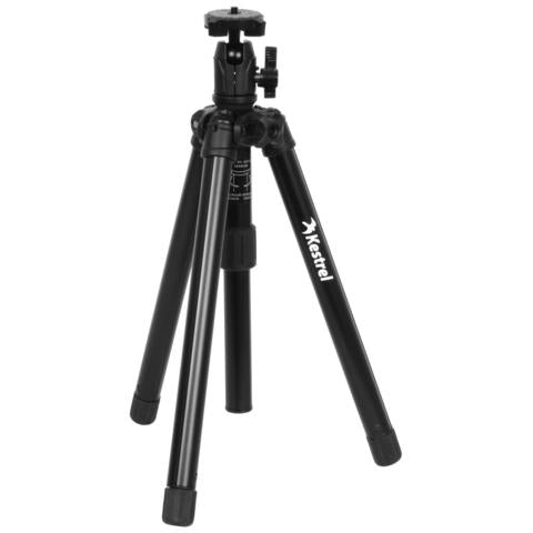 Kestrel Tripod, collapsible with Clamp, multi use (max height of 130cm, and a minimum of 35cm)