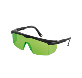 Geo Fennel Laser Intensive Glasses Green for Pipe Lasers, Laser Levels, Cross Lasers, Line Lasers
