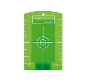 Geo Fennel Magnetic Target Green for Pipe Lasers, Laser Levels, Cross Lasers, Line Lasers
