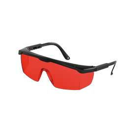 Geo Fennel Laser Intensive Glasses Red for Pipe Lasers, Laser