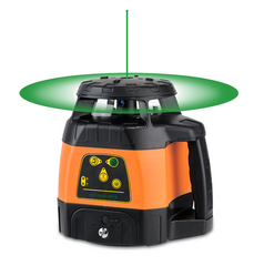 PACK Geo Fennel FLG 245HV Green Beam Laser Level Package, Detector, Tripod, Staff, Rotary Laser Tools