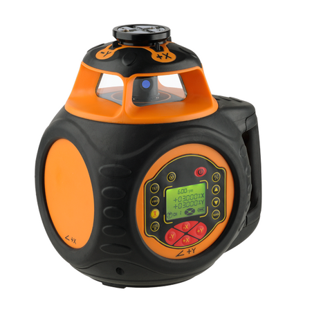 PACK Geo Fennel FL 550H-G DUAL GRADE Laser Level Package, Detector, Tripod, Staff, Rotary Laser Tools