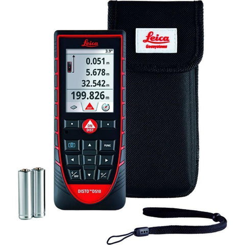 Leica Disto D510 Laser Measurer, Laser Tape, Distance Measure, Laser Measuring Tools