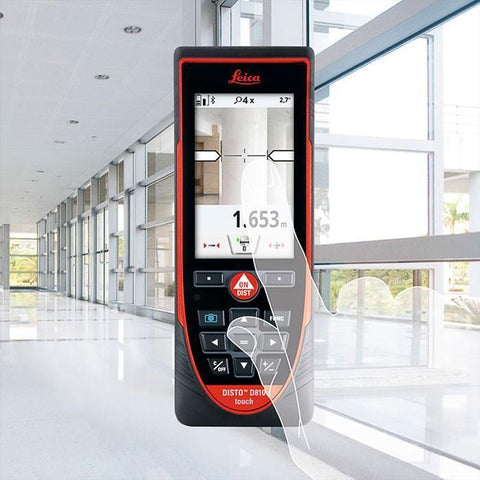 Leica Disto D810 Touch PACKAGE Laser Measurer, Laser Tape, Distance Measure, Laser Measuring