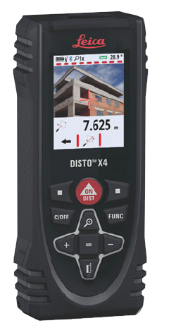 Leica Disto X4 PACKAGE Laser Measure with DST 360 Mount & TRI 120 Tripod