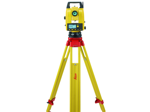"Leica BUILDER 509 9"",  Construction Total Station, 9 seconds of angular accuracy"