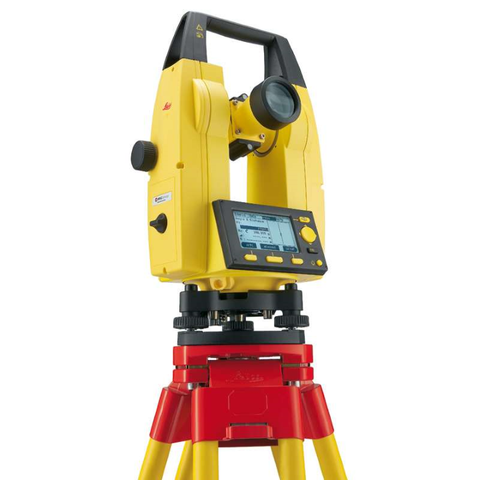 "Leica Builder 109 - 9"" Digital Theodolite, Laser Plummet, Dual Axis Compensator, Audible Notice for 90 Degree angles"