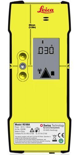 Leica COMBO Laser Level receiver-remote wBracket