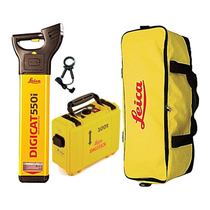 Leica DigiCAT Utility Locator Kit for Service & Cable Locator