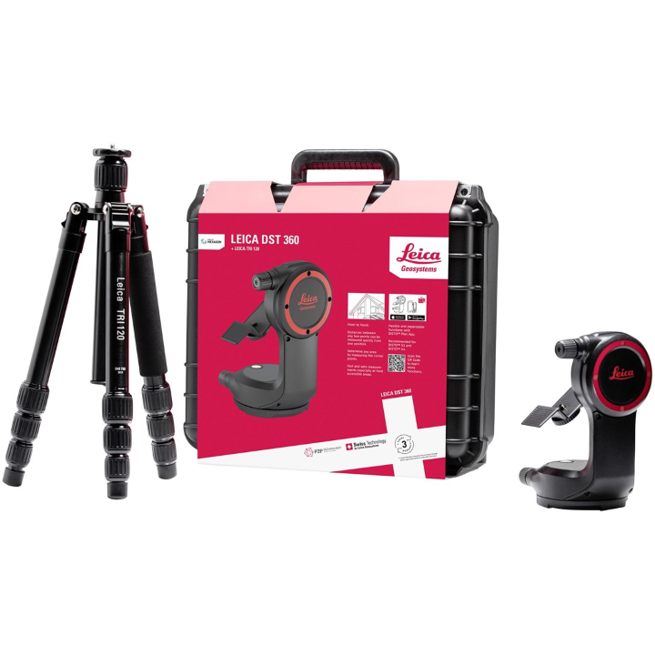 Leica Disto DST 360 Laser Measure Precision Measuring Mount & Tripod