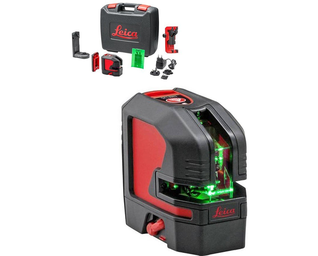 Leica Lino L2G-1 Laser Level Rugged Pack Lion battery, TWIST 250 adapter, UAL mount